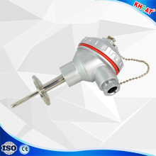 Hot Boiler wzp Armored pt100 temperature sensor
