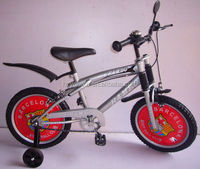 Hangzhou 20'' silver sport children bicycle/bmx bikes freestyle bike wholesale