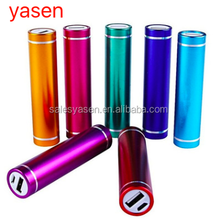 Best Selling Lipstick mini portable power bank 2600mah External Battery Charger For all kinds of phone