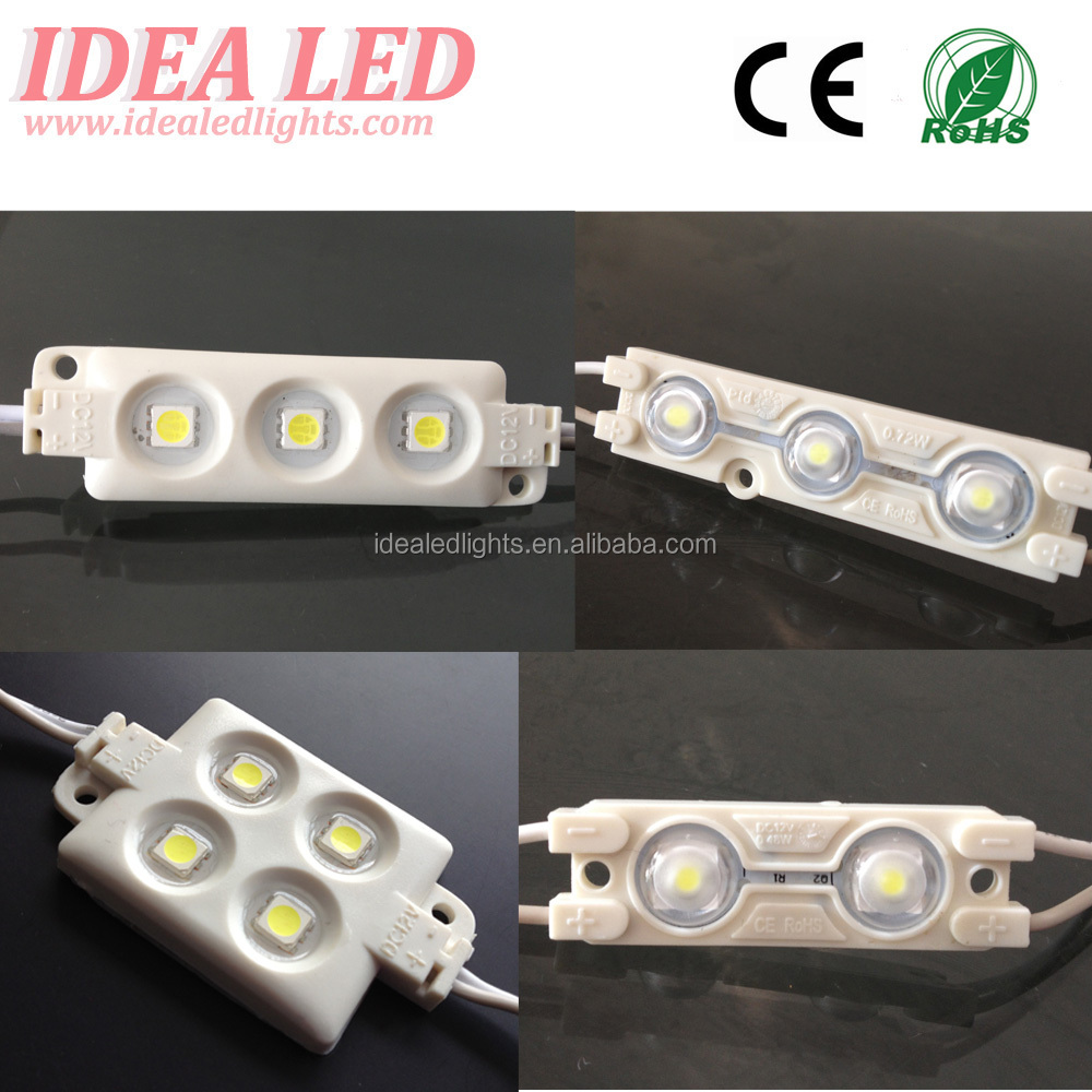 DC 12V 0.72W 3LEDS 5050 LED Sign Module