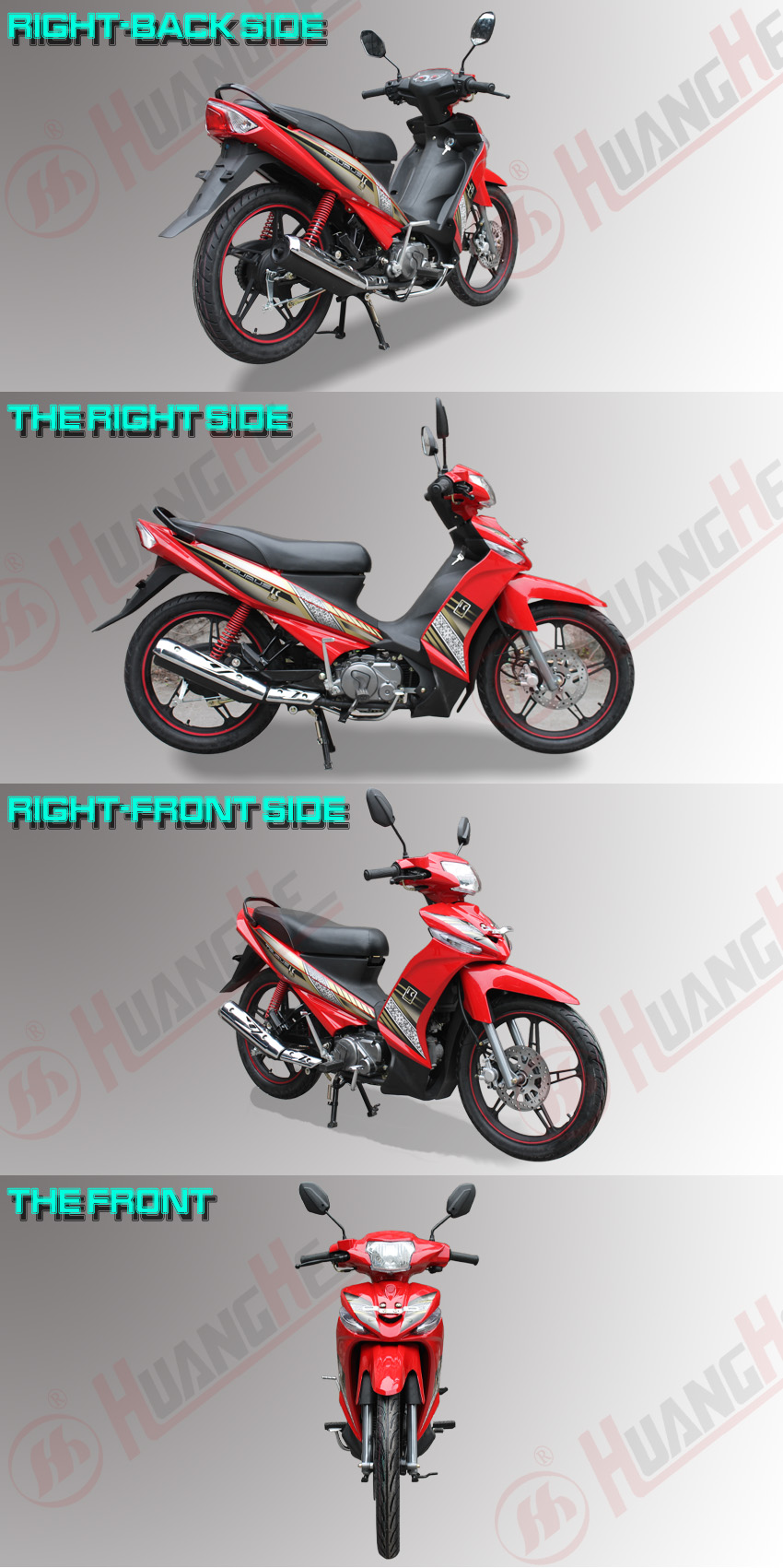 2015 cheap new motorcycles with zongshen engines sale