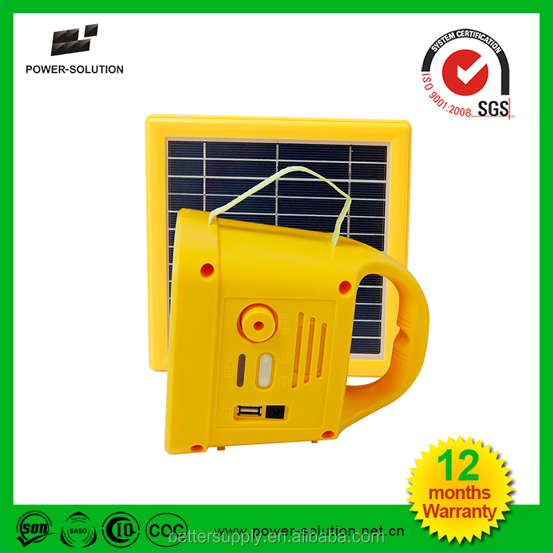 Hot Sale Long Working Time Solar Lamps for Africa Solar Garden Light Solar LED Light Home Factory Lamp CE RoHs Approved