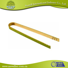 Kitchen utensil kitchen bamboo tongs for meat