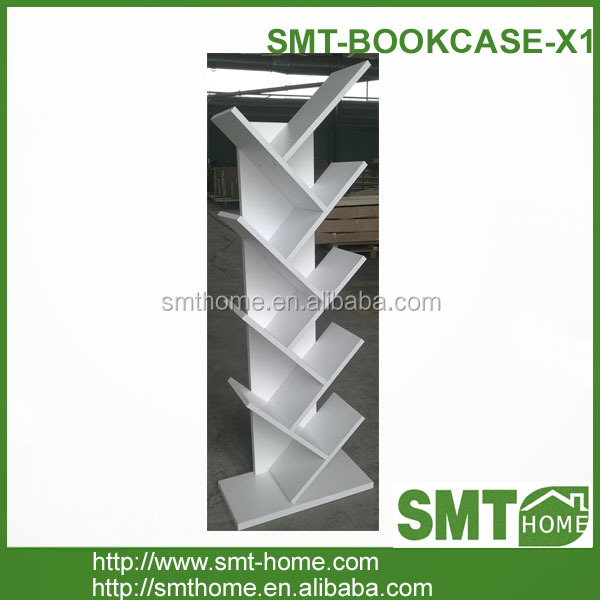 2018 new style bookcase office room furniture bookshelf white