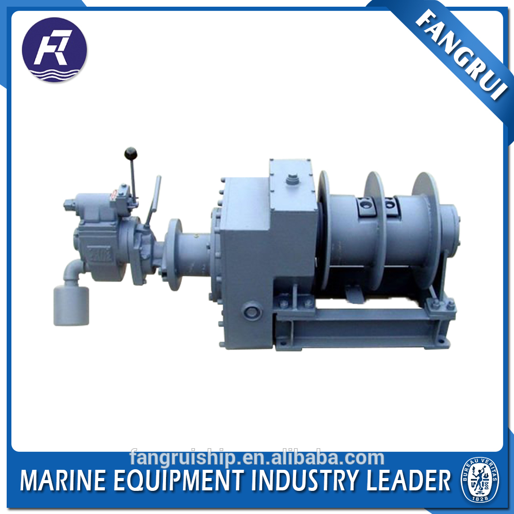 Small boat yacht drum anchor apstans winch for sale