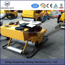 High efficiency HW-550 Small operation radius SINGLE DRUM vibratory road roller