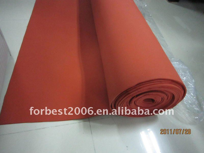 Insulation Adhesive Silicone sheet pad,silicone sponge sheet,Adhesive foam sheets