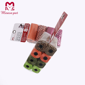 New design factory hot sale dog waste bags,pet poop waste bags