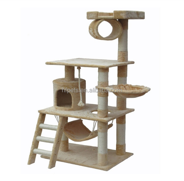 Cheap Luxury Sisal Cat Tree Cando