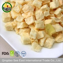 Qingdao See East Chinese Healthy Snacks Supplier Freeze Dried Apple Chips