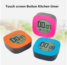 Digital Touch Screen Alarm Magnetic Kitchen Timer for cooking