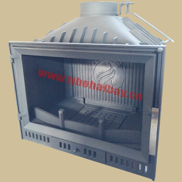 BHB 14 KW power indoor heating insert wood fireplace