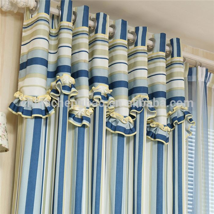 Mediterranean style blackout curtains for manufactured home