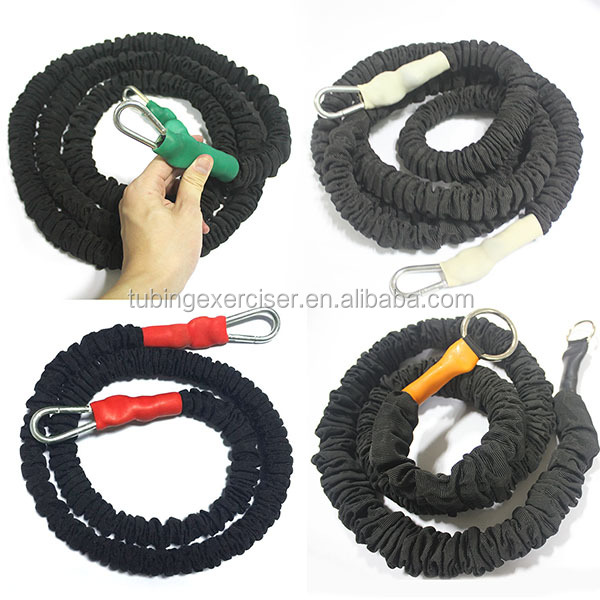 Outdoor Sports Body Training Latex Elastic Stretchy Bungee Rope