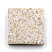 G682 Granite Mushroom Stone, Yellow Granite Mushroomed Cladding