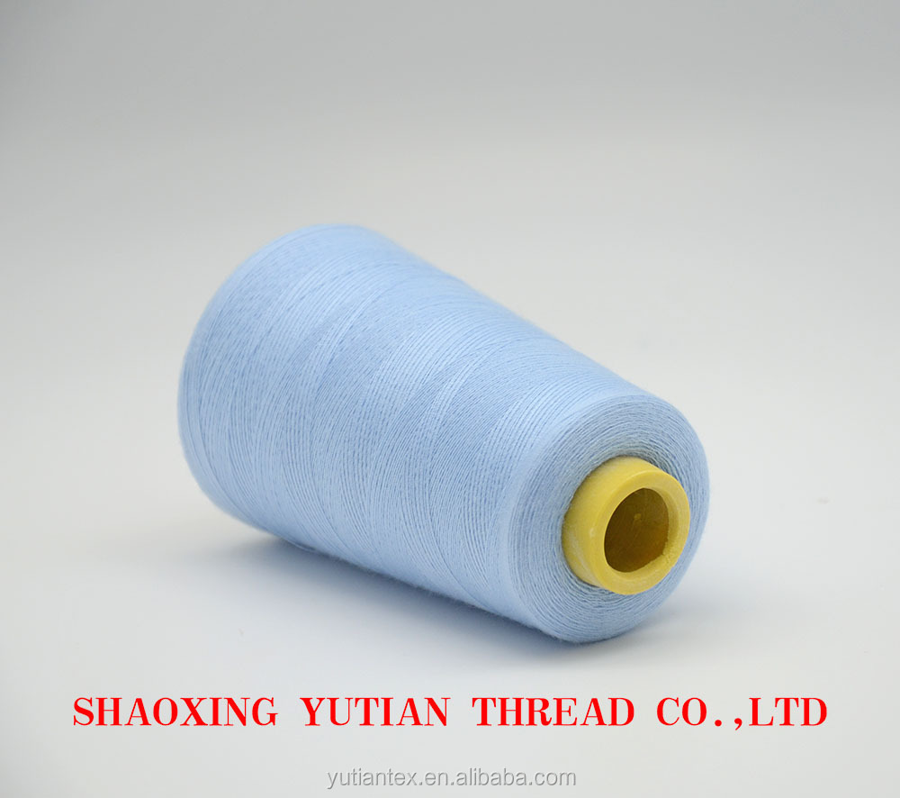 High quality polyester sewing thread used shoes for indian clothing wholesale