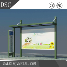 High quality custom rustless/fashion welding outdoor bus shelter manufacturer