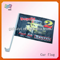 Manufacturer college sport team wholesale custom import car flags