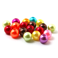 16mm Mixed plastic pearl beads Acrylic Spacer Ball Round Beads Fit Jewelry DIY