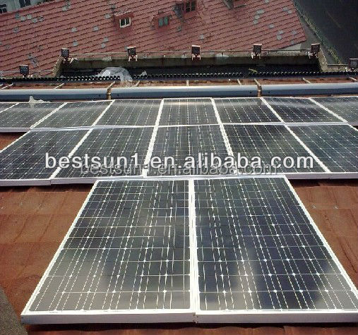 10KW A complete of high quality system and top sales solar panel system 5000w