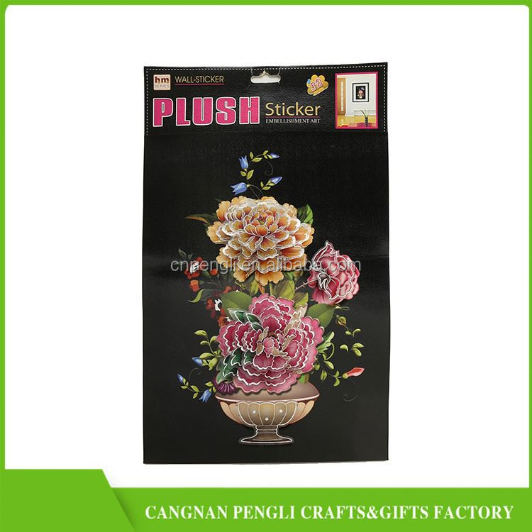 HOT SALE OEM design three dimensional cartoon sticker with good offer