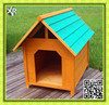 Outdoor wooden material of the pet dog house XD 018 for the dog