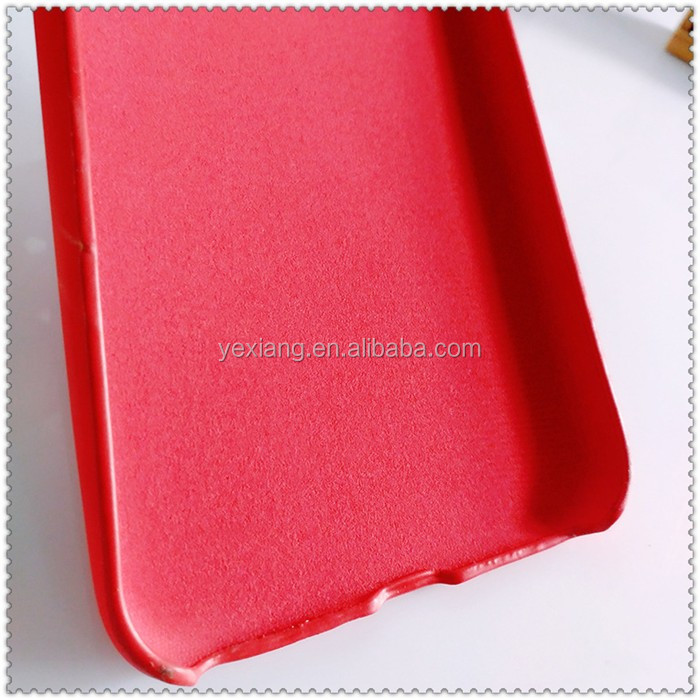 Ceative Design Thermal Inductive Discoloration Mobile Phone Leather Back Case For iPhone 6 6 Plus Heat Sensitive Cover