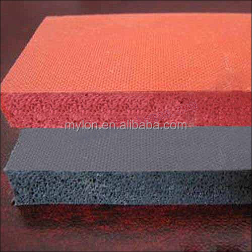 Cheap 10mm Silicone Foam Sheet with Low Compression
