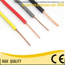 H07V-U 450/750V Voltage KWSHENG OEM Electric Wire Cable Hs Code