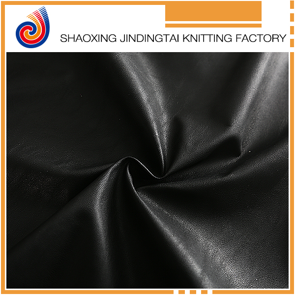 Hot sale customized color pattern PU leather clothing fabric
