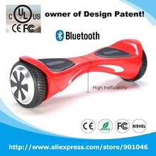 cheap 2 wheel electric scooter 6.5 Inch electric mobility Scooter Electric Hoverboard With Bluetooth UL2272
