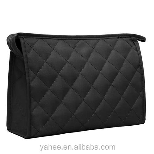 Classical Lattices Makeup Cosmetic Purse Travel Bag Pouch Women Girls Gift