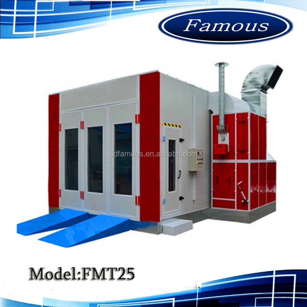 FMT25 paint spray room/painting spraying booth/paint booth for cars