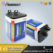 Competitive price 4r25 6v heavy duty battery carbon zinc battery