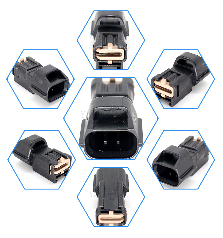 7182873030 3 pin japanese automotive electrical pbt connector for n issan