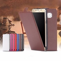Simple Vertical Flip Magnetic Cell Phone Leather Case Top Open Case for Huawei Y3 II (2)