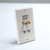 1 Port HDMI 2 Ports Cat6 Ethernet  coaxial wall plate  White RJ45 Wall Plate
