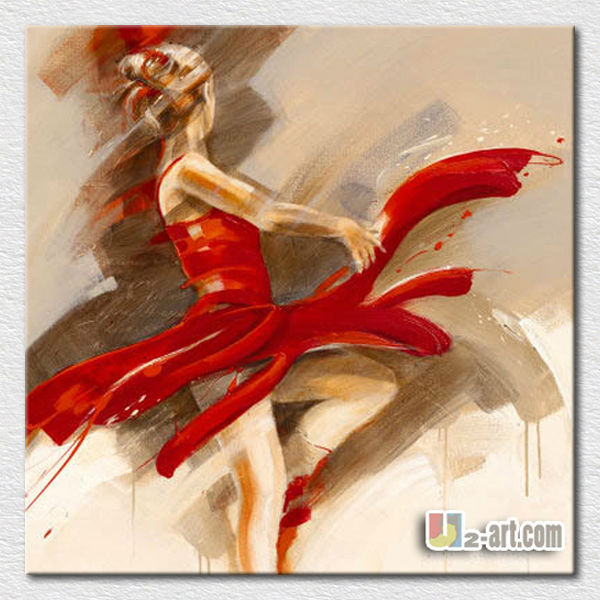 Beautiful sexy lady dancer oil painting for bedroom wall <strong>decoration</strong>