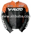 V-ROD MOTORBIKE LEATHER JACKET MOTORCYCLE LEATHER SUIT