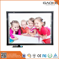 High quality polished freestanding magnet trace board interactive whiteboard