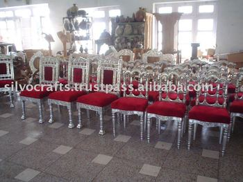Silver wedding chair (Silver Furniture)