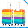 hard shell 4 wheels abs trolley bag travel luggage bag