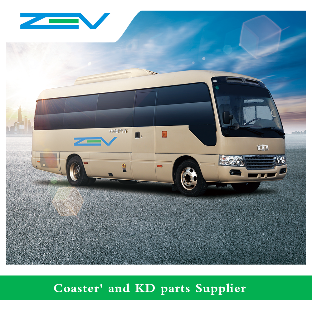 Mini bus price 8 meter toyota coaster bus 31 seater electric bus for sale