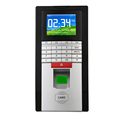 Biometric card access control time attendance system