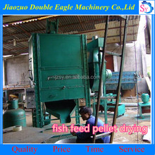 hot sale animal feed pellet dryer /fish feed drying machine