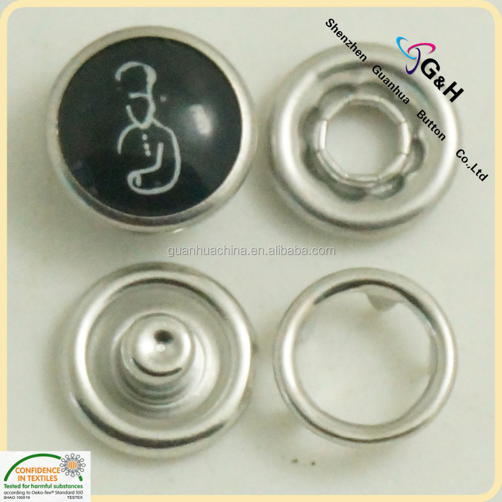 pearl snap button 15mm