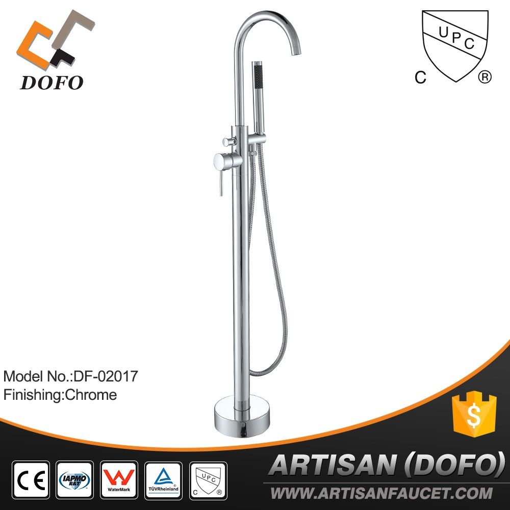 Chrome painting single handle UPC 61-9 nsf kitchen faucet