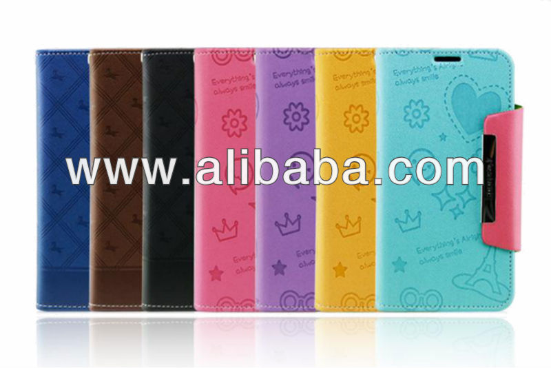 Diary colorful case for I Phone5,Galaxy S3,Galaxy note 2