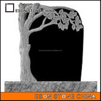 eson stone 77 tree headstone,china black granite monuments