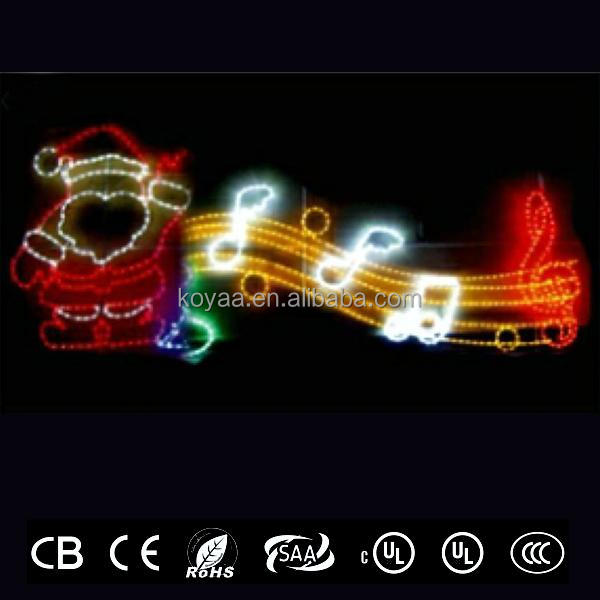 CE approved across street LED motif lights